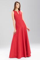 Josie Natori Italian Texture Sleeveless Dress