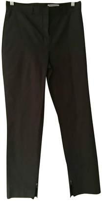 Saint Laurent Black Silk Trousers