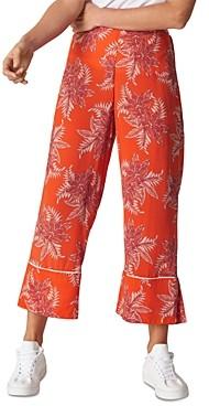 Whistles Palmyra Print Crop Pants