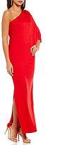 Trina Turk Svanna One-Shoulder Maxi Dress