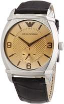 Emporio Armani Men's AR0338 Classic Dial Watch