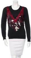 Altuzarra 2016 Powell Embellished Wool Sweater w/ Tags