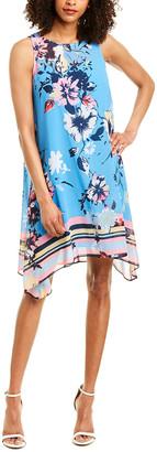 Donna Morgan Chiffon Swing Dress
