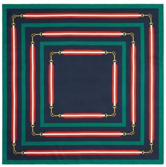 Gucci Ribbon Squares Scarf