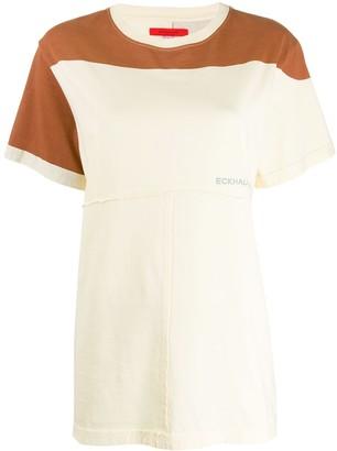 Eckhaus Latta lapped short sleeved T-shirt