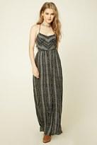 Forever 21 FOREVER 21+ Southwestern Print Maxi Dress