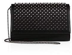 Christian Louboutin Women's Paloma Spiked Leather Clutch