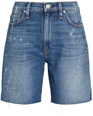 Hudson Hana Denim Biker Shorts