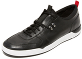 HUGO Fusion Leather Sneakers