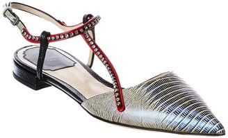Christian Dior Leather Flat