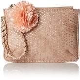 Deux Lux Women's Cotton Candy Wristlet, Blush
