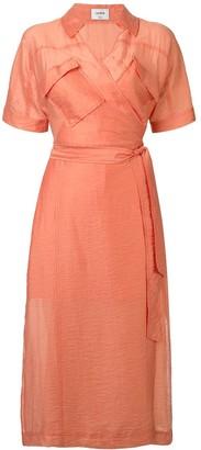 SUBOO Farrah wrap dress