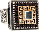 Konstantino Square Gemstone Ring
