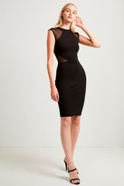 French Connection Viven Panelled Jersey Dress