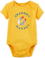 Carter's Graphic-Print Cotton Bodysuit, Baby Boys