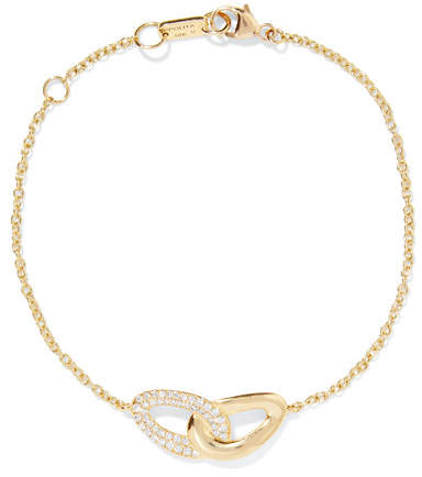Ippolita Cherish Bond 18-karat Gold Diamond Bracelet - one size