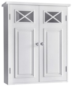Elegant Home Fashions Dawson Wall Cabinet With Two Doors