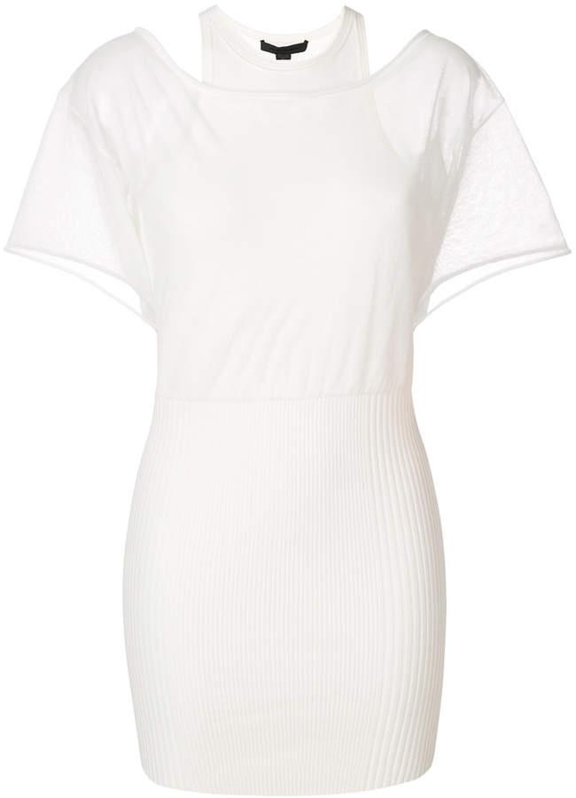 Alexander Wang layered T-shirt dress