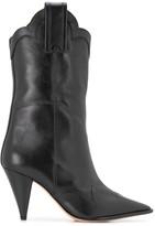 Alexandre Birman ankle-length cowboy boots