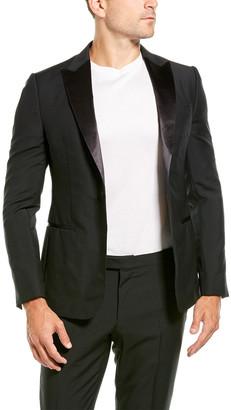 Ermenegildo Zegna 2Pc Wool & Mohair-Blend Suit With Flat Pant