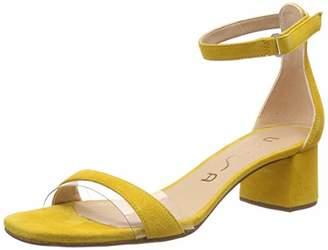 Unisa Women's Kanica_ks Ankle Strap Sandals, Yellow