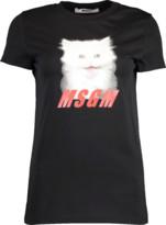 MSGM Cat Print T-Shirt