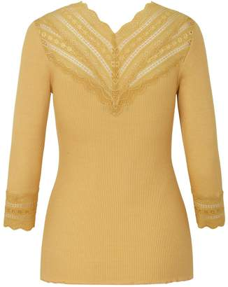 Rosemunde Top With Lace