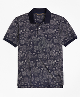 Brooks Brothers Slim Fit Shell Print Polo Shirt