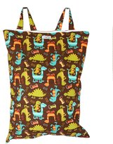 Snuggy Baby Hanging Diaper Pail - Dino Dudes