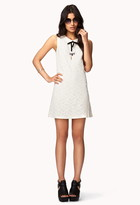 Forever 21 Floral Lace Shift Dress
