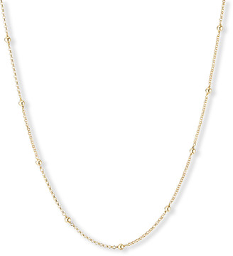 """David Yurman Cable Collectibles 18k Dome Necklace, 36""""L"""