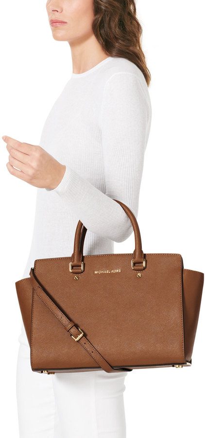 MICHAEL Michael Kors Selma Top-Zip Satchel