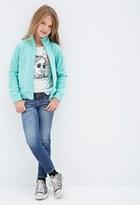 Forever 21 Girls Fleece Track Jacket (Kids)