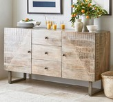 Pottery Barn Planked Sideboard Buffet
