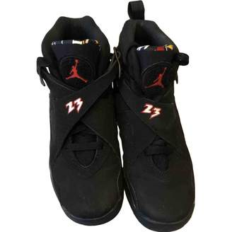 Jordan Air 8 Black Suede Trainers