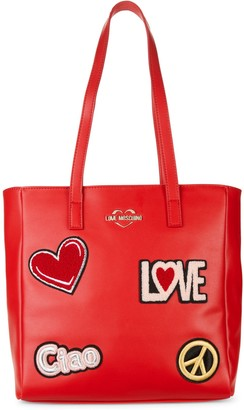 Love Moschino Small Love Patch Tote