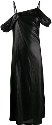 Ann Demeulemeester Drape Detail Dress