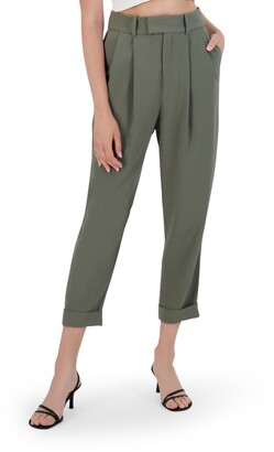 BB Dakota Crop Motion Pleat Front Pants