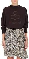 Etoile Isabel Marant Women's Odilion Cotton-Blend Fleece Sweatshirt