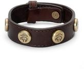 Brooks Brothers Leather Bracelet with Golden Fleece® Rivets