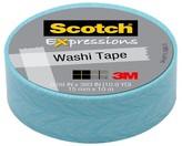 Scotch MULTI-COLORED SCRPBK EMBEL WASHI TAPE BL FEATHER