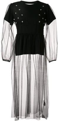 Tu Es Mon Trésor tulle dress with T-shirt