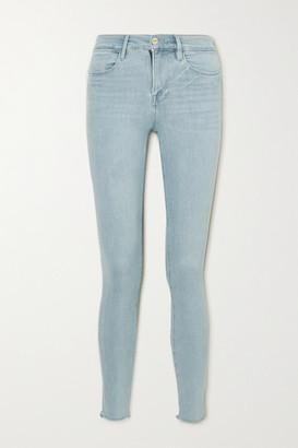 Frame Le High Skinny Jeans - Light denim