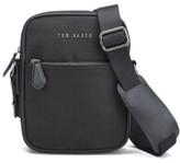 Ted Baker Men's Nail Nylon Flight Bag - Black