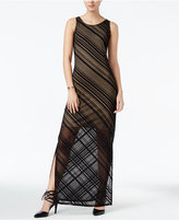 Bar III Striped Maxi Dress, Only at Macy's