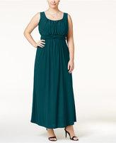 Love Squared Trendy Plus Size Empire-Waist Dress