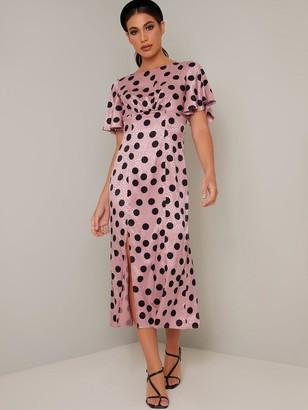 Chi Chi London Nenita Dress - Pink