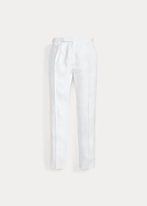 Ralph Lauren Pleated Linen Suit Trouser