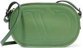 Valentino Textured-leather shoulder bag