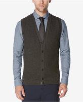 Perry Ellis Men's Button-Front Sweater Vest